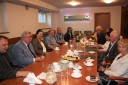 Spotkanie pracowników  z marszałkiem Gawlikiem