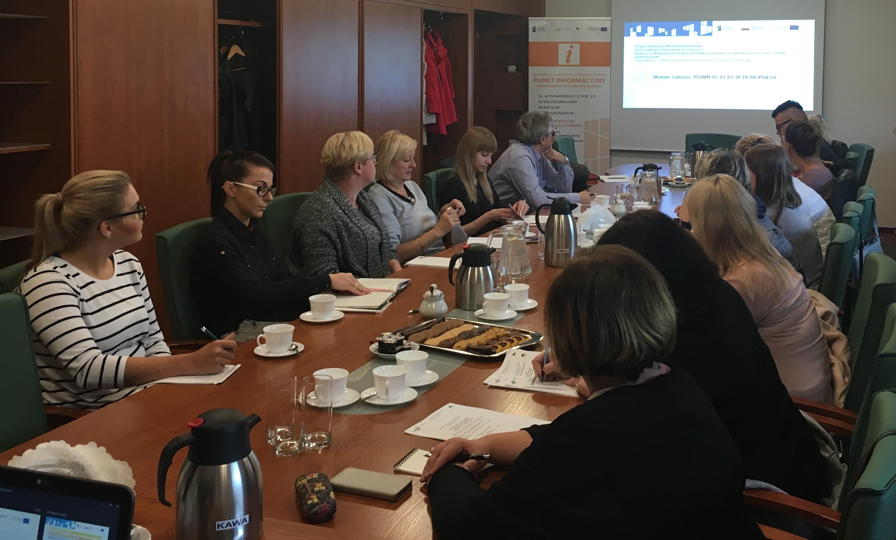 Spotkanie przedstawicieli PUP dot. naboru projektów pozakonkursowych